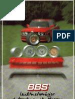 bmw e21 BBS accessories brochure