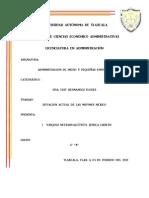 ACTUALIDAD DE MIPYMES