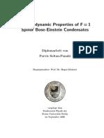 Parvis Soltan-Panahi- Thermodynamic Properties of F=1 Spinor Bose-Einstein Condensates