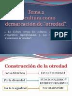 Tema 2 - Construcción del otro