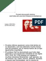 Historia de Las Doctrinas Economic As Eric Roll Croata Parte 69