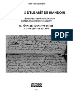 Joan Francés BLANC - Los aujòls d'Elisabèt de Brandoin 13