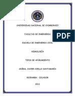 TIPOS DE AFORO