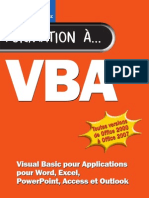 VBA Visual Basic Pour Applications Pour Word, Excel, Power Point, Access Et com