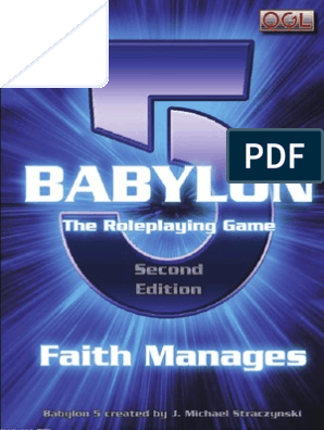 D20 - Babylon 5 RPG - 2nd Edition - Core Rulebook[1] | Works