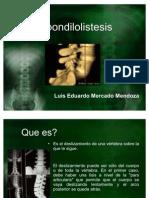 Espondilolistesis
