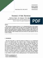 B.M.A.G. Piette, B.J. Schroers and W.J. Zakrzewski- Dynamics of baby Skyrmions