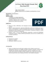 PLANO ANUAL DE MATEMÁTICA 2º ANO ESCOLA FERNANDO MOTA