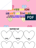 Conversation Heart Activities