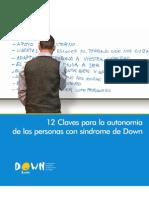 Claves para la autonomía de personas con SD 62 PAG