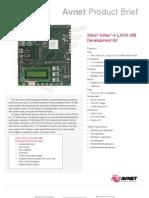 Xilinx Virtex-4 LX-SX MB Development Kit-Product Brief