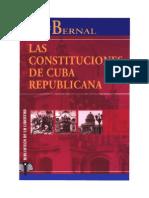 Constituciones de Cuba Republican A