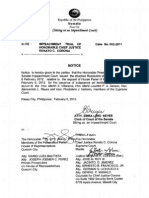 Resolution SC Justices Feb8
