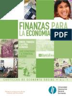 Finanzas para economía solidaria