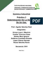 Practica 3 (Determinación de la densidad de un gas)