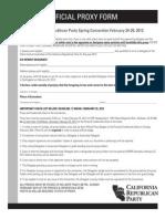 CRP 2012 Spring Conv Proxy