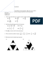 Algebra 2012 Problem Set 1
