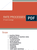 Rate Process 3rd Exam Lec1