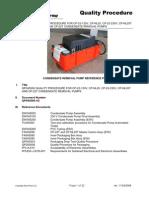 QP045000-AB Condensate Pump Quality Procedure