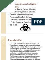 Residuos peligrosos biológico- infecciosos