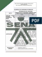 TG PRODUCCION CONTENIDOS ANIMADOS PARA SIMULACIÓN PROCESOS INDUSTRIALES 922715 v1