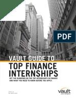 Top 10 Finance Internships 2011