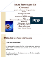 to Externo y Metodos de Intercalacion