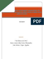 El proceso de gestión y el desempeño organizacional