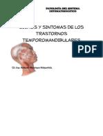 Signos y Sintomas de Los Trastornos Temporomandibulares (1)