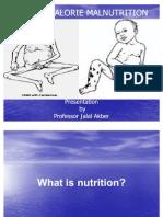 Protein Calorie Malnutrition