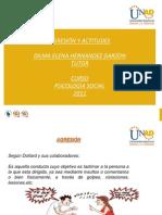 Agresion y Actitudes-Dilma Hernandez