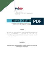 Citizens Charter Chart