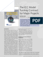ICC Model of Turnkey Contract