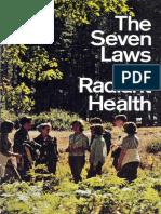 Seven Laws of Radiant Health (Prelim 1973)