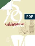 Vilnius University 1579 2004