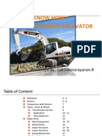 Knowhow Hydraulic Excavator by RLN