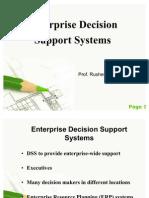 Enterprise Decision Support Systems