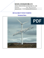 Hf15!0!50kw Wind Turbine Free Stand Tower