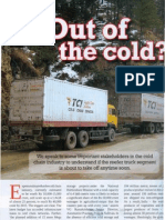 Out of the Cold Reefer Trucks