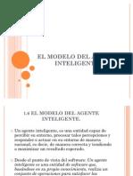 1.6 El Modelo Del Agente Inteligente