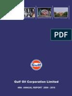 Gulf Oil Report