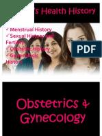 Women's Health History