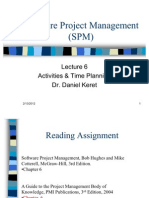 Software Project Management (SPM)-Lecture-6