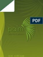 Palm Ice Cream Menu Web