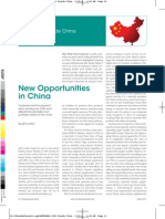 new opportunities in china