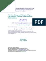 Basic Rulings and Foundations of Fiqh-13-Abdur Rahmaan Ibn Naasir as-Sa'Di-Saleh as-Saleh-Www.islamchest