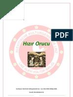 HIZIR FASTEN - HIZIR ORUCU