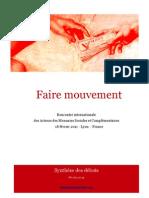 Synthese Faire Mouvement - Rencontre Internationale des Acteurs de Monnaies sociales et complémentaires