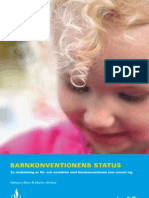 Rapport om barnkonventionens status