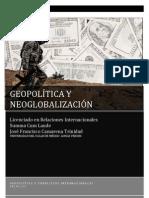 GEOPOLITICA Y NEOGLOBALIZACIÓN